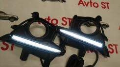 Ходовые огни. Toyota Highlander, ASU50, ASU50L, GSU50, GSU55, GSU55L, GVU58 Двигатели: 1ARFE, 2GRFE, 2GRFXE, 2GRFKS, 2GRFXS