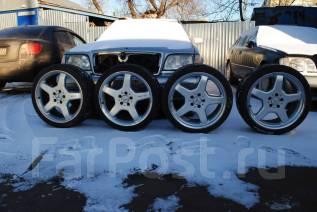 Диски + Шины Mercedes AMG R19. 8.5/9.5x19 5x112.00 ET44/46 ЦО 73,0мм.