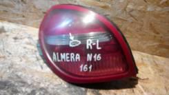 Фонарь Nissan Almera, левый