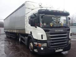 Scania P340. Седельный тягач Scania p 340 LA4X2HNA, 11 750 куб. см., 13 600 кг.
