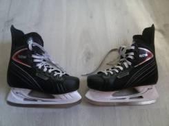 Коньки хоккейные Nordway Montreal 39 размер ( Как Новые) чёрные. размер: 39, хоккейные коньки