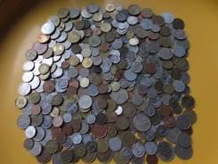 Монеты иностранные 400 штук без повторов