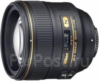 Продам объектив Nikkor AF-S 85mm 1.4G. Для Nikon, диаметр фильтра 77 мм