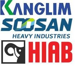 Запчасти для крановых установок и манипуляторов Kanglim, HIAB, Soosan