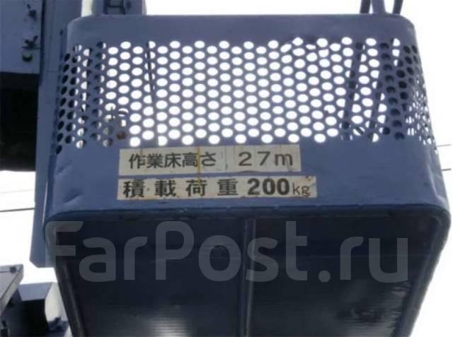 Hino Ranger. автовышка 27 метров, 6 630 куб. см., 27 м. Под заказ