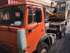 Галичанин КС-55713-1. КС 55713-1 (Галичанин) на шасси Камаз 55111-15, 10 850 куб. см., 25 000 кг., 21 м.