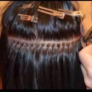 Наращивание волос дома 1000 руб