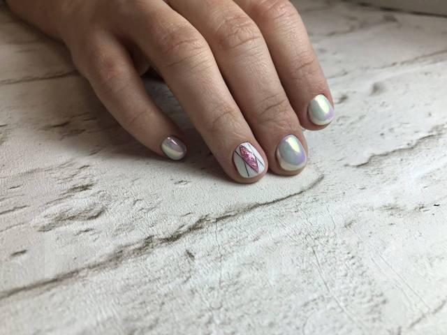 Маникюр Нежный Дизайн На Длинные Ногти