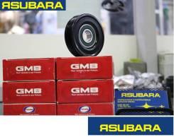 Натяжной ролик ремня кондиционера. Subaru Forester, SG5, SG9L, SF5, SG9, SF9 Subaru Legacy, BG2, BG4, BG3, BG5, BG7, BHCB5AE, BE5, BG9, BE9, BGB, BGA...