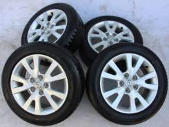 Колёса с шинами =Mazda= R16! 2015 год! 95%! Оригинал! (№ 67445). 6.5x16 5x114.30 ET52.5