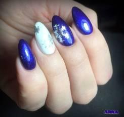 Маникюр, гель-лак, дизайн ногтей