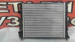 Радиатор охлаждения двигателя. Renault Megane, BA, DA, LA Renault Logan, LS Renault Scenic, JA Двигатели: E7J, F3R, F7R, F8Q, F9Q, K4M, K7M, D4D, D4F7...
