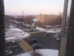 2-комнатная, улица Комсомольская 64. Центр, агентство, 42 кв.м. Вид из окна днём