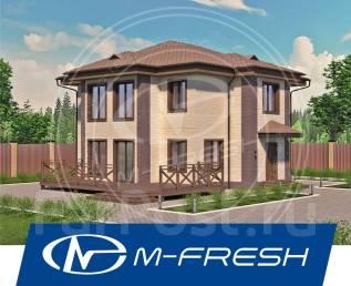 M-fresh Lepota! -зеркальный (5 комнат, терраса, витражи, эркеры! ). 200-300 кв. м., 2 этажа, 5 комнат, бетон