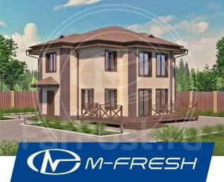 M-fresh Lepota! (Посмотрите для себя проект красивого дома! Лепота! ). 200-300 кв. м., 2 этажа, 5 комнат, бетон