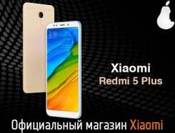 Xiaomi Redmi 5 Plus. Новый, 64 Гб, Желтый, Золотой