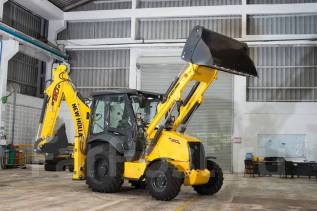 New Holland. B80B Экскаватор-погрузчик, 3 900 куб. см., 0,22 куб. м.