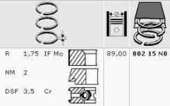 Кольца поршневые MB M102 2.0 d89.0 STD 1.75-2-3.5 00215n0