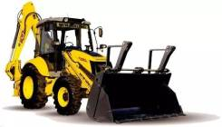 New Holland B100B. Экскаватор-погрузчик, 4 500 куб. см., 0,22 куб. м.
