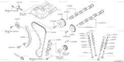 Клапан vvt-i. Nissan: Wingroad, Avenir, Primera, Pulsar, Cube Cubic, Sunny, Almera, Bluebird Sylphy, Cube, Tino, Expert, Sentra, AD, March Двигатели...