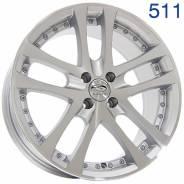 Sakura Wheels R266. 7.5x17, 4x98.00, ET28, ЦО 58,6мм.