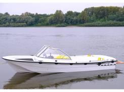River Jet Чайка ТВ. Год: 2018 год, длина 4,80м., двигатель стационарный, 100,00л.с., бензин. Под заказ