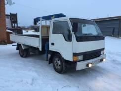 Mitsubishi Canter. Продается грузовик с манипулятором, 3 600 куб. см., 3 000 кг.