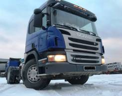 Scania P440LA. Тягач Scania P440 4х2, 12 740 куб. см., 11 000 кг.