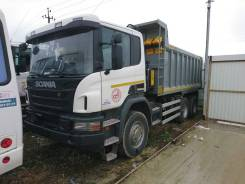 Scania P400. Самосвалы 6x4, 12 345 куб. см., 25 000 кг.