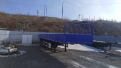 CFJ9600, 2017. Полуприцеп бортовой, с фитингами под контейнер, 60 000 кг.