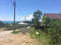 5 соток с видом на море. 500 кв.м., собственность, от агентства недвижимости (посредник)