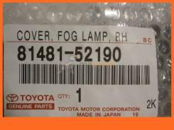 Заглушка в бампер TOYOTA RACTIS 05- RH c отверстием под туманку TOYOTA / 8148152190