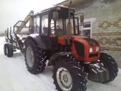 МТЗ. Трактор лесовозный с манипулятором
