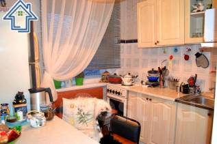 2-комнатная, улица Давыдова 14. Вторая речка, агентство, 42 кв.м. Кухня