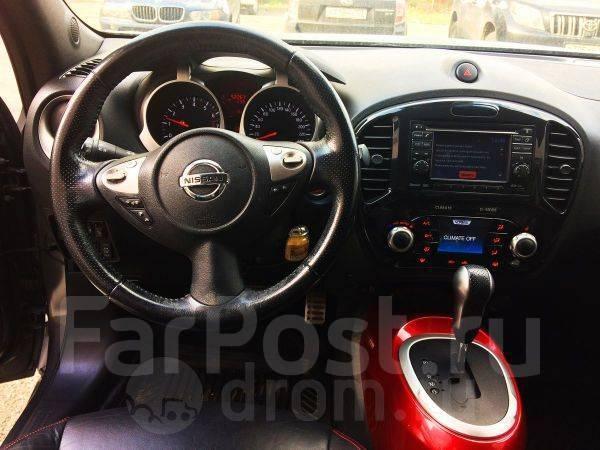 Nissan Juke. автомат, 4wd, 1.6 (190 л.с.), бензин, 52 тыс. км