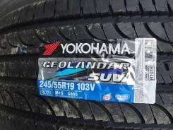 Yokohama Geolandar SUV G055. Летние, 2016 год, без износа, 4 шт