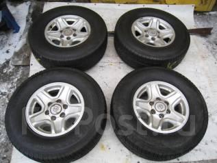 Продам летние шины 265/70R16 на литых дисках Toyota. 7.0x16 6x139.70 ET15