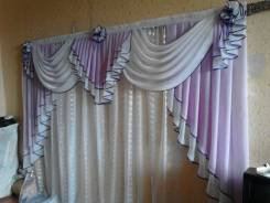 Пошив изделий на заказ. Одежда, шторы, ламбрикены.