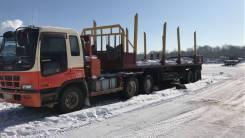 Isuzu Giga. Продам лесовоз, 19 000 куб. см., 20 000 кг.
