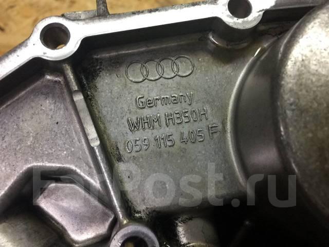 Корпус масляного фильтра. Audi: A6 allroad quattro, A8, A4, S6, A6, S8, S4 Двигатели: AKE, APB, ARE, BAS, BAU, BCZ, BEL, BES, AAH, ABZ, ACK, ACZ, AEJ...