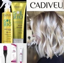 Восстановление и выпрямление волос. Detox