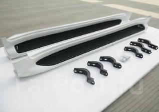 Подножка. Toyota Land Cruiser, GRJ200, J200, URJ200, URJ202W, UZJ200, UZJ200W, VDJ200 Lexus LX570, URJ201 Двигатели: 1GRFE, 1URFE, 1VDFTV, 2UZFE, 3URF...