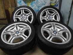 Продам Стильные колёса Bmw MSport+Лето 225/45-245/40R17E46. 7.5/8.5x17 5x120.00 ET41/50