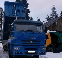 Камаз 6520. Самосвал Камаз-6520, сентябрь 2014 г. в., 3 000 куб. см., 20 000 кг.
