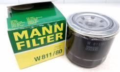 Фильтр масляный Mann W811/80