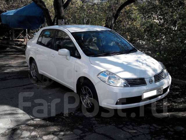 Nissan Tiida Latio. автомат, 4wd, 1.5, бензин, 170 000 тыс. км