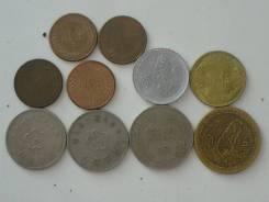Тайвань подборка из 10 монет. Без повторов! Торги с 1 рубля!