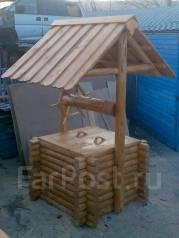 Столярные цех- деревянные заборы, бани, беседки