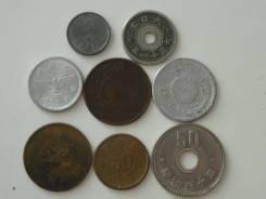 Старая Япония подборка из 8 монет. Без повторов! Торги с 1 рубля!