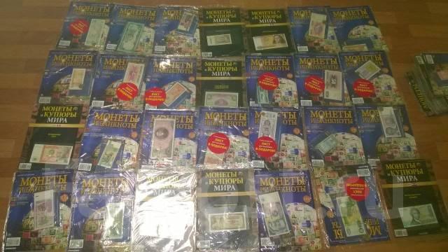 Банкноты мира 100 выпусков -есть редкие. Альбомы листы Все в 1 лоте.